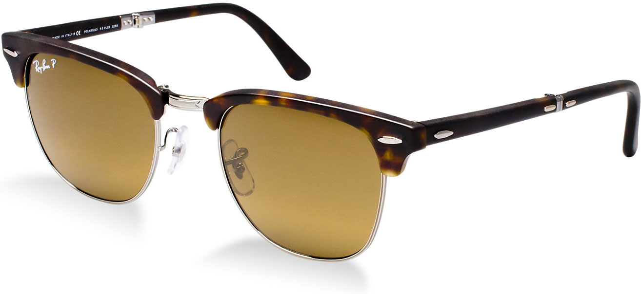 Ray Ban RB2176 51 Clubmaster Folding sunglasses  priced £243