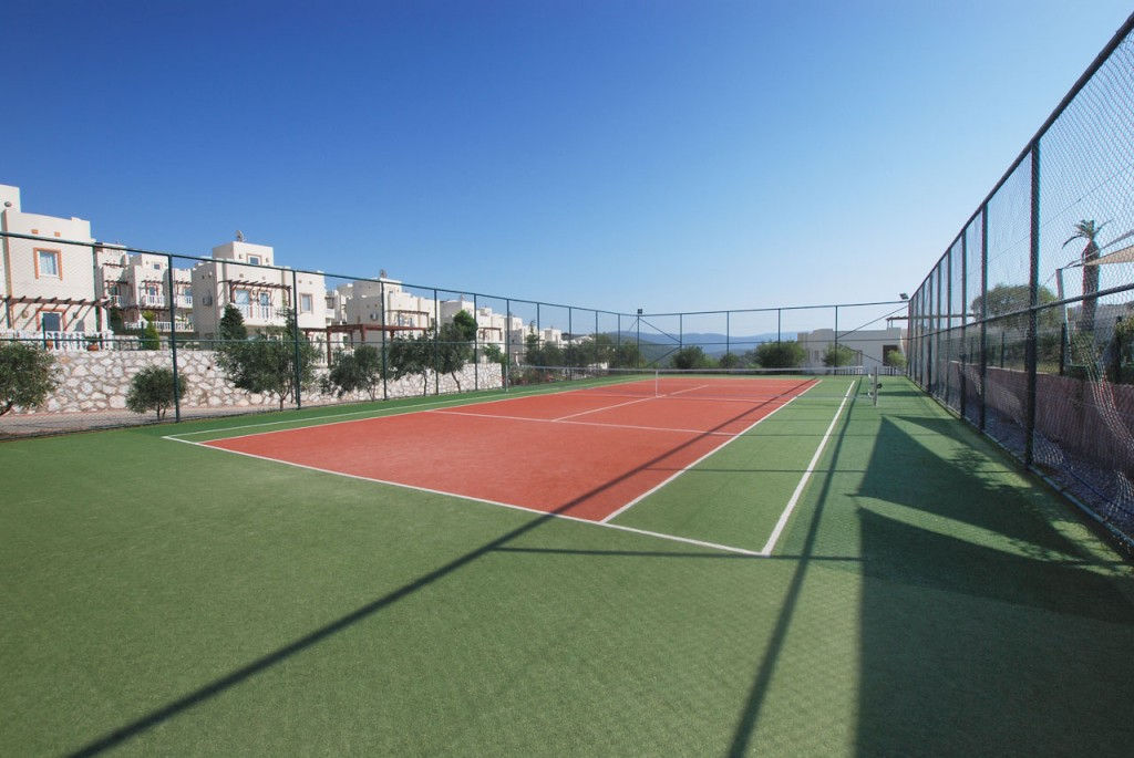 The Turquoise resort tennis courts