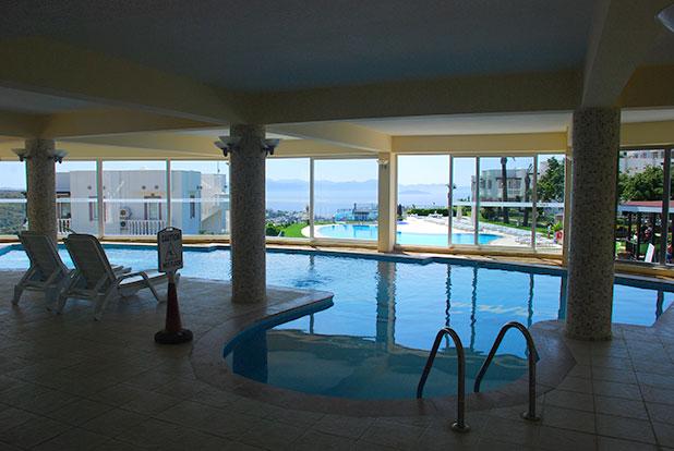 Pool 8: Yalikavak Holiday Gardens indoor heated pool