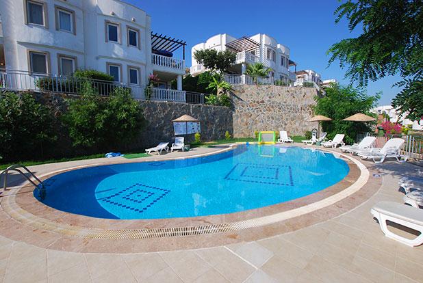 Pool 4: Yalikavak Holiday Gardens communal pool near the Kamelya Villas and Mimosa Apartments