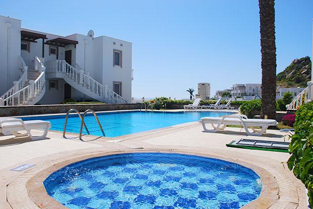 Pool 7: Yalikavak Holiday Gardens communal Jacuzzi pool by the Kardelen Apartments
