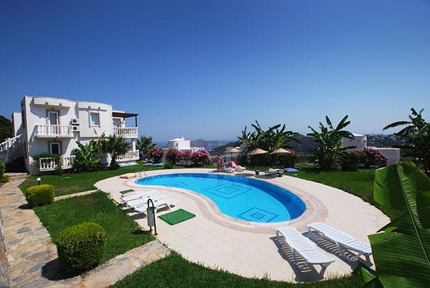 Pool 5: Yalikavak Holiday Gardens communal pool by the Leylak Apartments