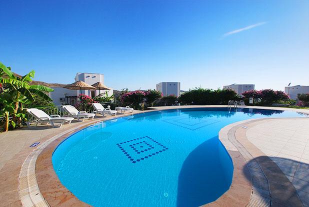 Pool 3: Yalikavak Holiday Gardens communal pool located near the Kamelya Villas and Yasemin Apartments