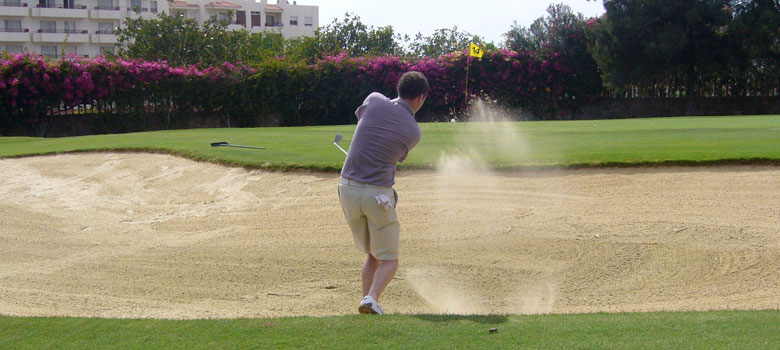 A stag weekend to the Costa del Sol wouldn't be complete without a round of golf!