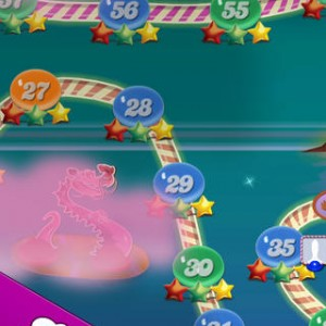 Candy Crush Saga app screenshot