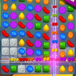 Candy Crush Saga app screenshot