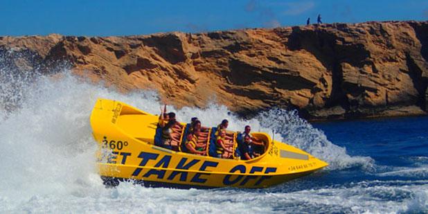 Smile High Parasailing in Fuengirola offer Flash 360 Jet Boat Rides