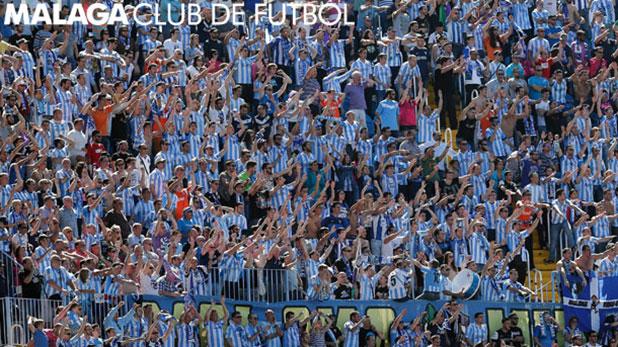 Join the Malaga FC fans at the Estadio La Rosaleda football stadium