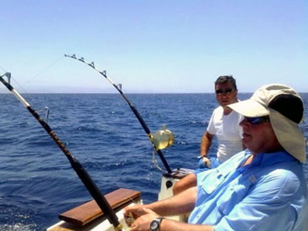 Why not try big game fishing on the Costa del Sol with Marbella Fishing