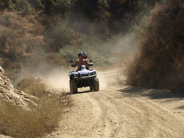Take a Quad Safari tour and experience off road adventures and stunning views on four wheels