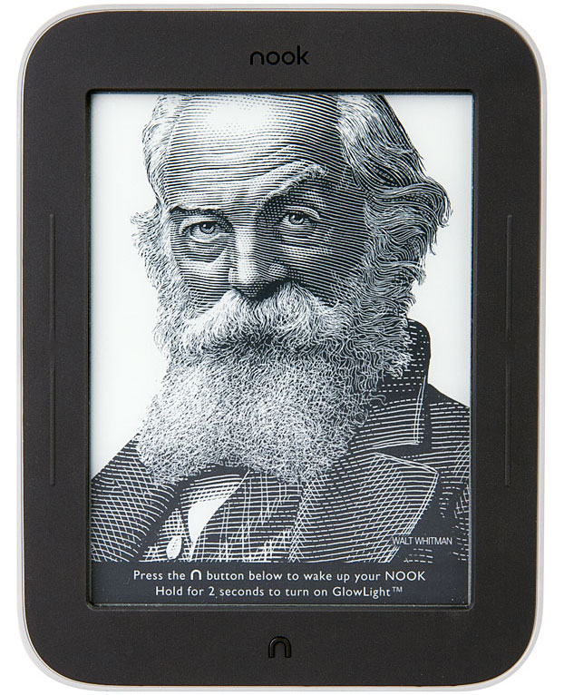 NOOK simple touch glowlight eReader - RRP £49