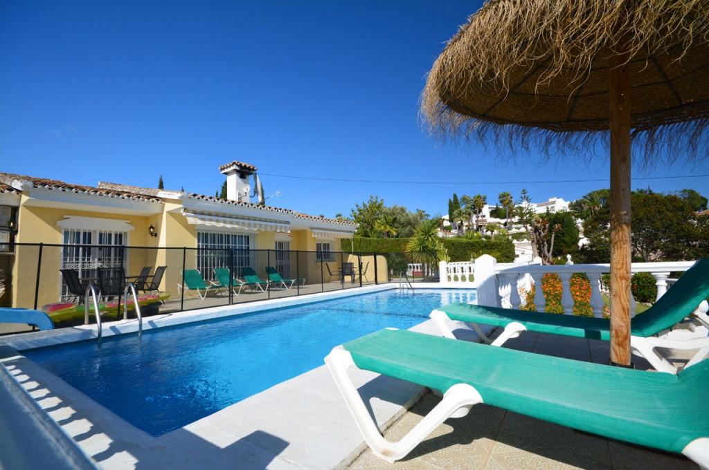 Villa SP005 - a beautiful 4 bedroom holiday villa in Fuengirola, Spain boasting total privacy