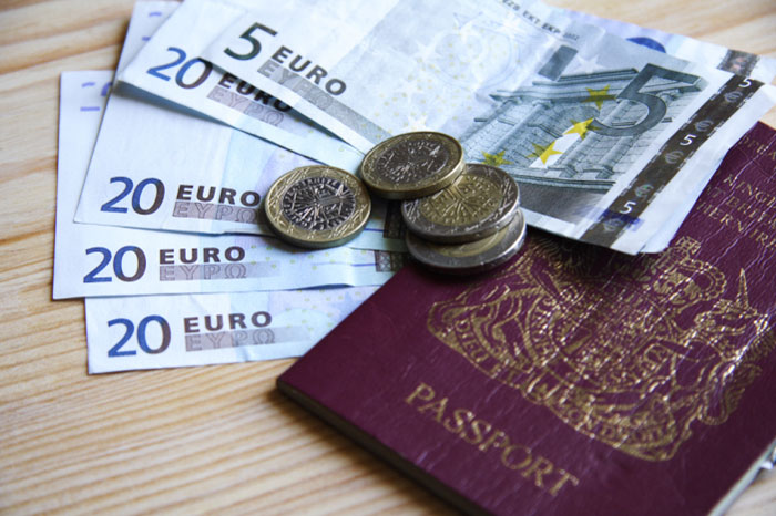 Going on holiday now is great value with superb exchange rates for Sterling into Euros and Dollars