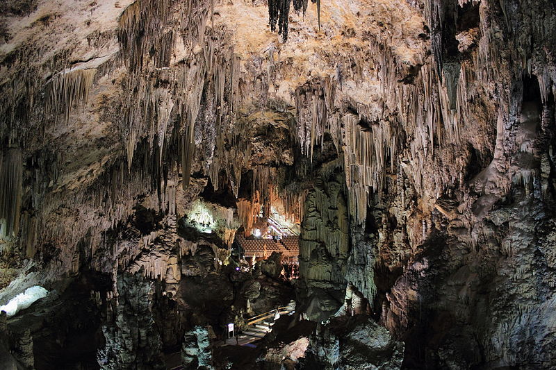 The impressive Nerja Caves, photograph CC by SA Luisgar