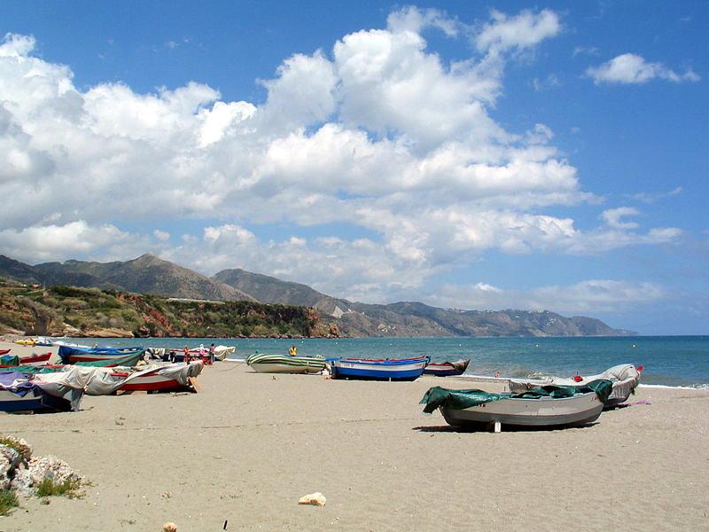 Playa de Burriana, photograph CC by SA Tobias Steinhoff