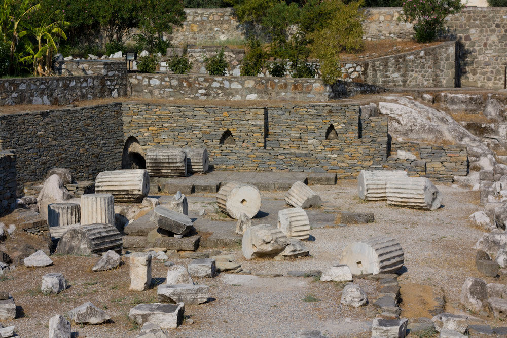 The Mausoleum at Halicarnassus is one of the Seven Ancient Wonders of the World