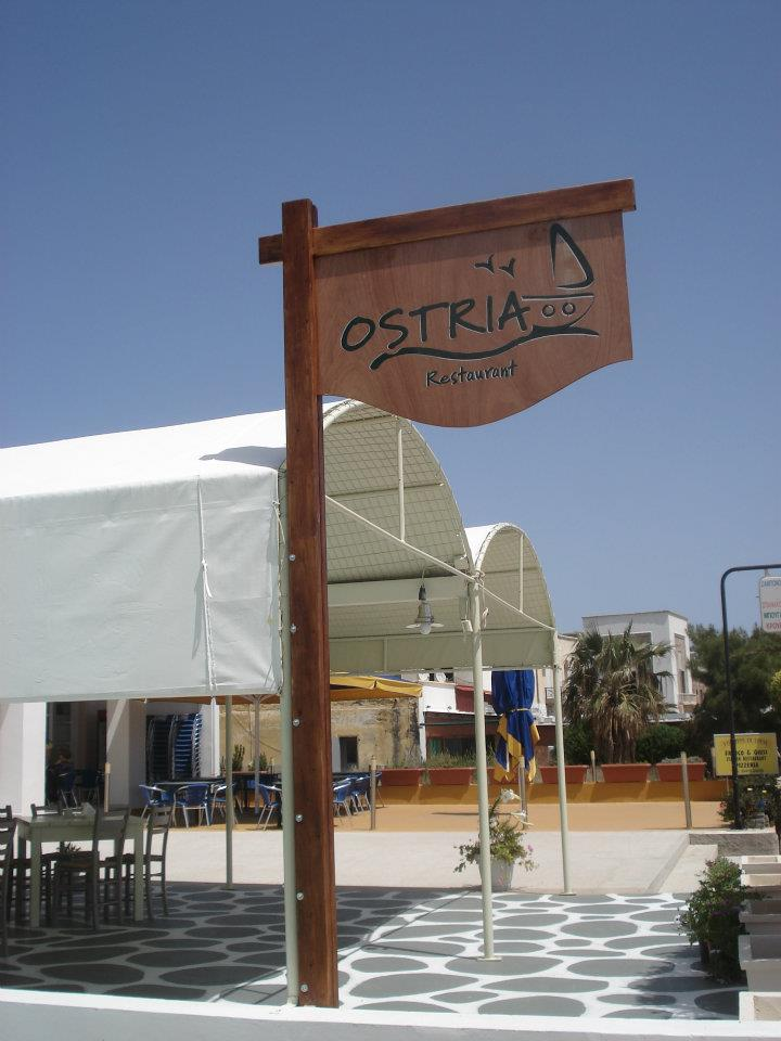 Ostria Restaurant in Lakki, Leros