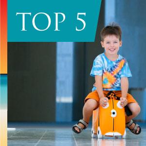 Top 5 kids luggage