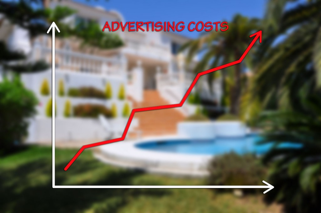 HomeAway ad costs have increased over the years by introducing different packages from Classic to Platinum
