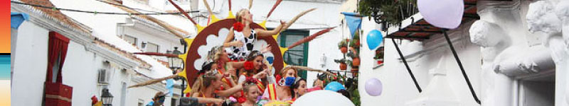 Fun and Fiestas in Mijas during 2015 by Panoramic Villas