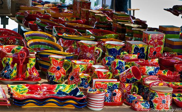 Arroyo de la Miel Friday market - photo by CranneyAnthony
