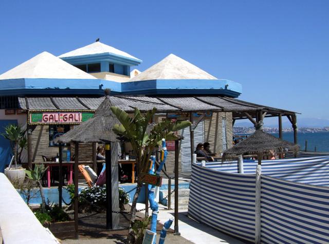Chringuito - Gali Gali beach restaurant, Fuengirola