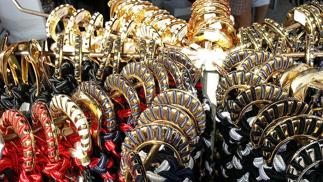 Belts at the Wednesday Estepona market - photo by Andiroo1