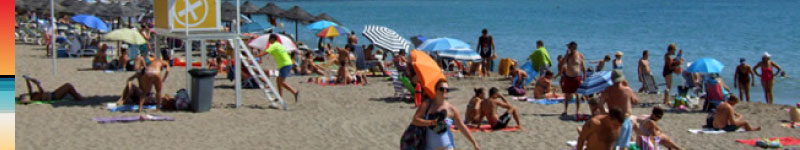 This year take a 7 kilometre stroll at the beach in Fuengirola by Panoramic Villas