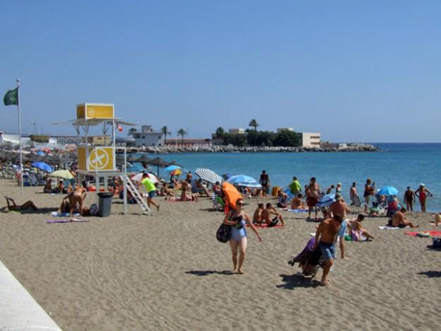 7 Kilometres of Beach in Fuegirola