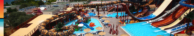 Pirates of the Cactus Waterpark in Yalikavak by Panoramic Villas