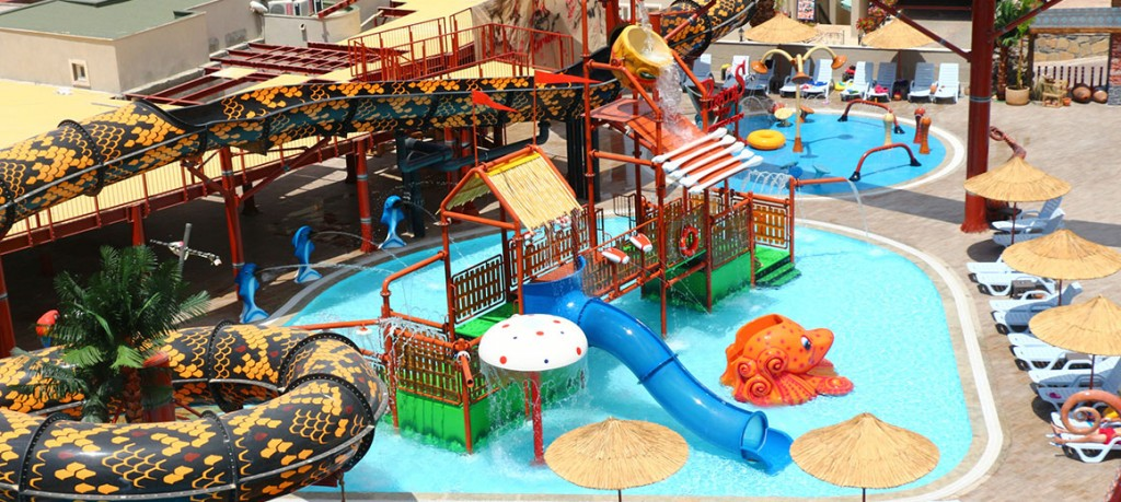 Privates of the Cactus Waterpark has over 4500 square metres of rides and attractions!