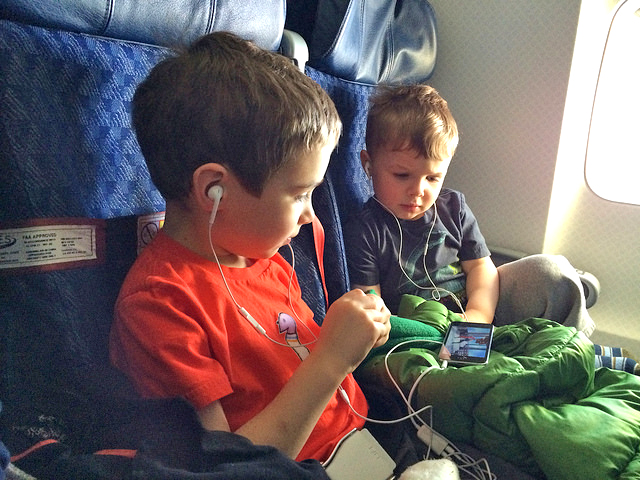 Air Passenger Duty (APD) has been scrapped for kids under 12 - photo courtesy of Juhan Sonin