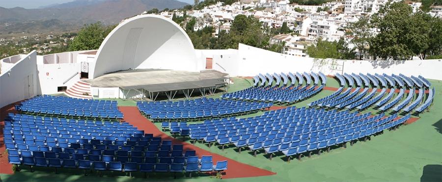 Miguel Gonzalez Berral Auditorium in Mijas village - photo courtesy www.mijas.es