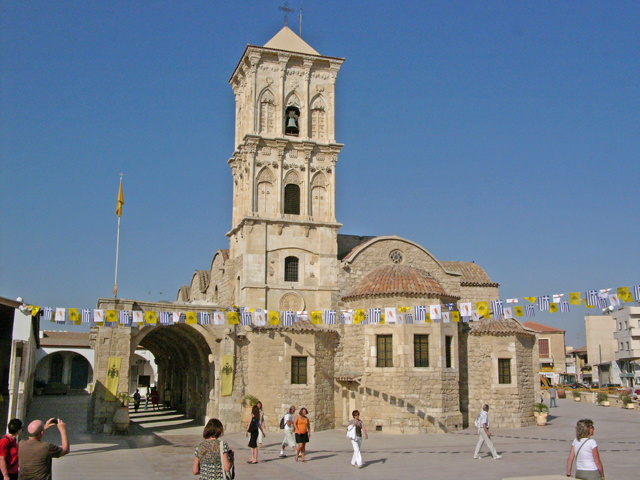 Lazarus Church in Larnaca contains the tomb of St. Lazarus - photo courtesy Hannes Grobe/BHV