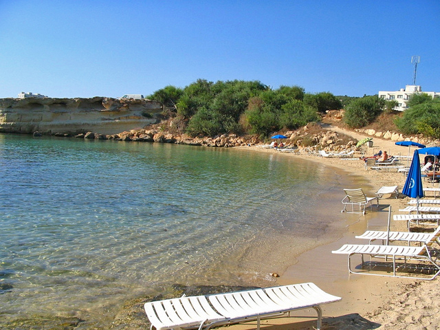 The clean and sandy beaches of Fig Tree Bay in Protaras - photo courtesy HappyTellus
