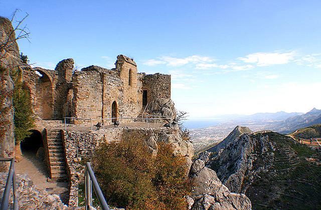 Enjoy the panoramic views from St Hilarion Castle - photo courtesy Inga Pylypiuk