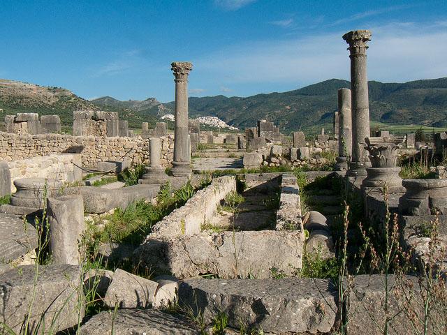 Volubilis, city of the Romans