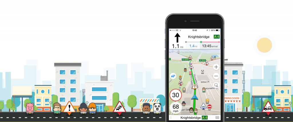 Download the free Navmii app to access maps without using any internet data