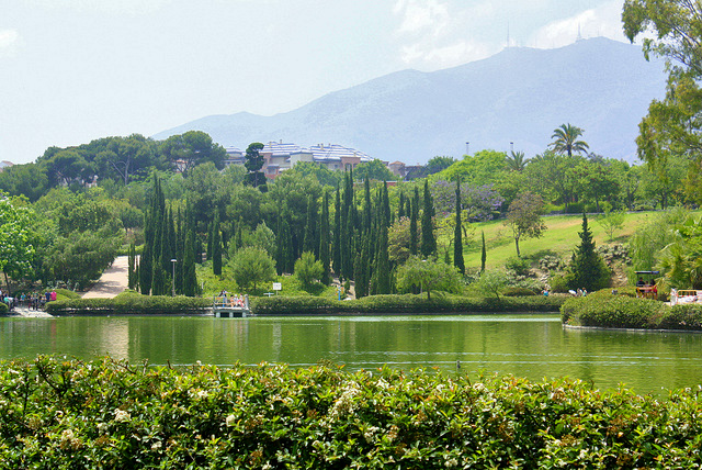 Lake in Parque de Paloma, Benalmadena - photo CC BY-ND 2.0 Jess R.