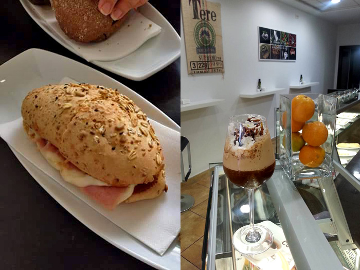 Coffee Area in Los Boliches - Tuck into a cheese and ham roll and enjoy the very best Arabica coffee