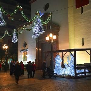 Plaza de la Constitucion, Fuengirola at Christmas