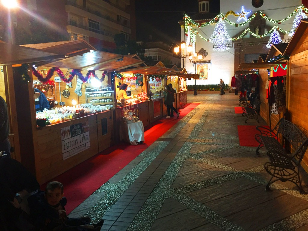 Plenty of festive huts offer an excellent choice of goods and food on display