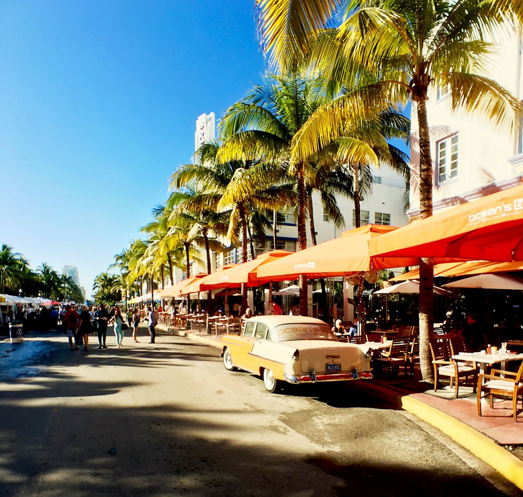 Miami South Beach's Famous Ocean Drive