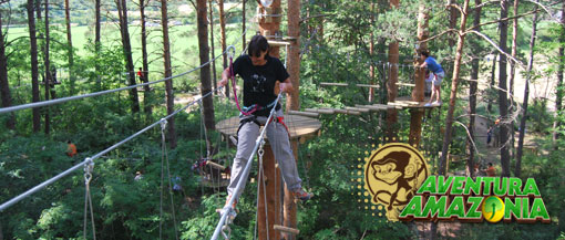 Get Your Adrenalin Going at Aventura Amazonia