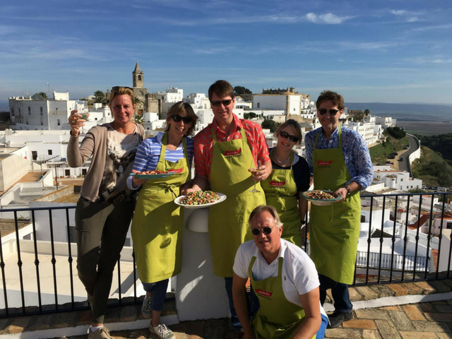 Learn how to cook Spanish and Moroccan cuisine in Vejer de la Frontera