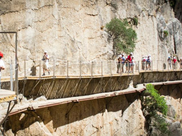 Daredevils will love the nail-biting Camino del Rey walk