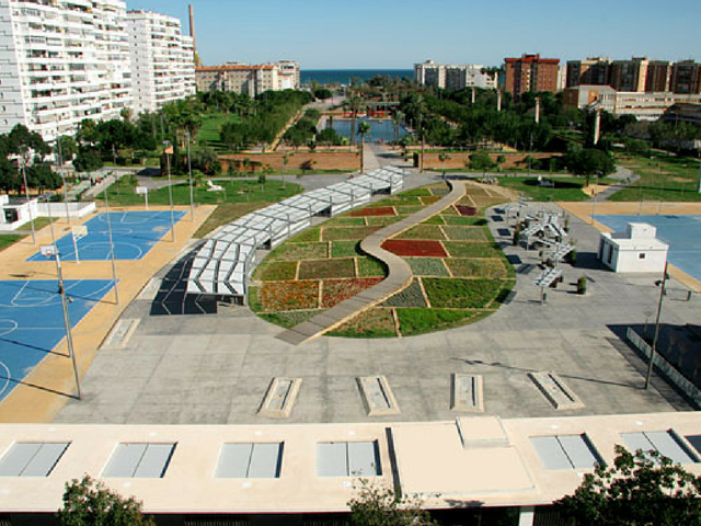 Malaga- Parque del Oeste