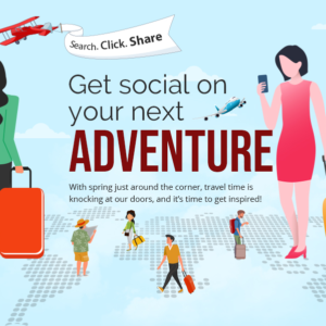 Get Social On Your Next Adventure (Infographic)